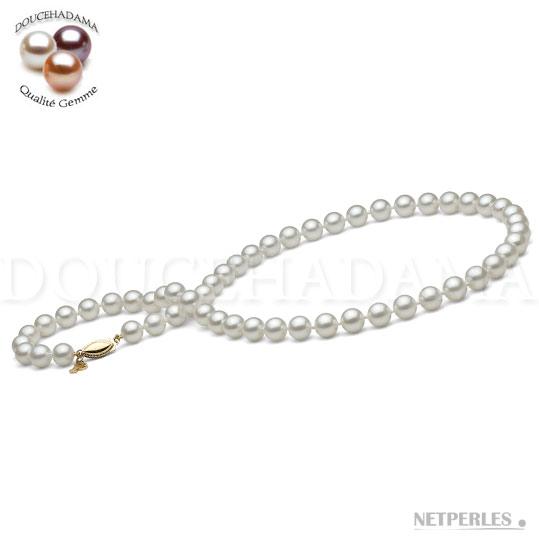 Collier de perles de culture Doucehadama
