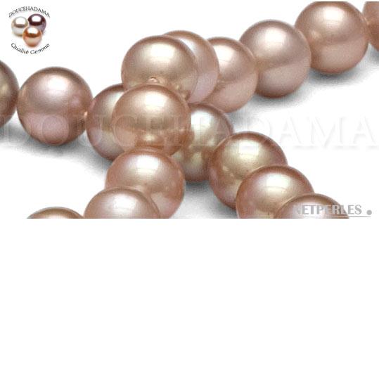 perles de culture d'eau douce lavande DOUCEHADAMA