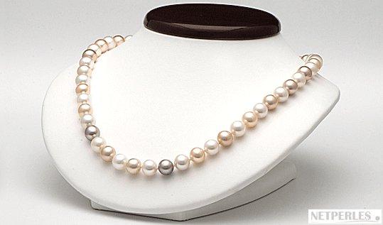 Collier de perles de culture Doucehadama 45 cm