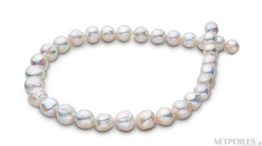 Collier de perles Ripple d'eau douce, cultivées en Chine