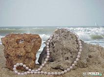 Collier de perles de culture du Japon - perles akoya - collier de perles