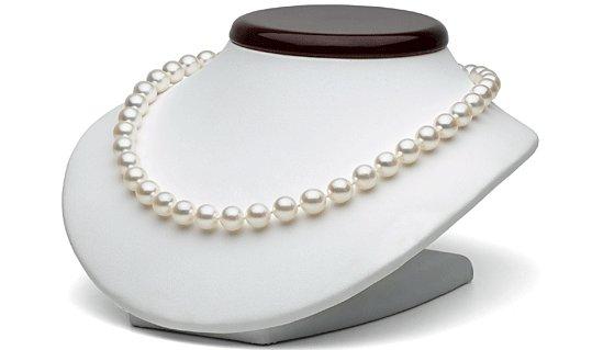Collier 45 cm de perles de culture Akoya