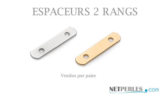 Espaceur en Or pour collier ou bracelet