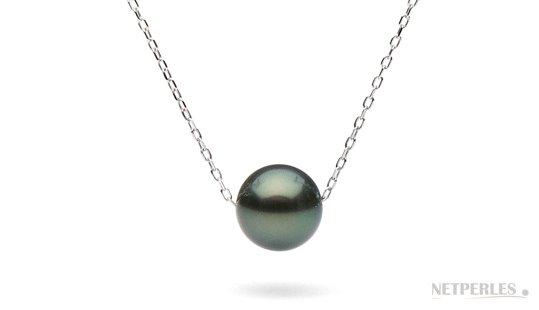 pendentif avec perle de tahiti