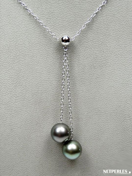 Collier De Perles De Culture De Tahiti Perles De Culture Perles