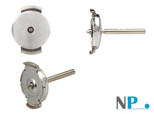 Fermeture breveté GUARDIAN pour boucles d'oreilles en Argent 925 rhodié