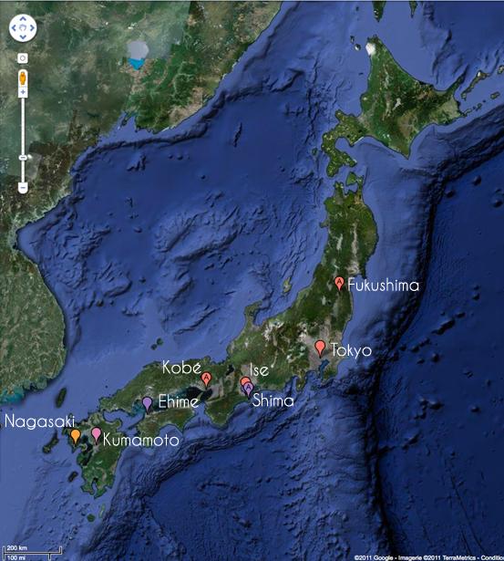 FERMES PERLICOLES AU JAPON