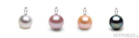 Couleurs des perles d'Eau Douce