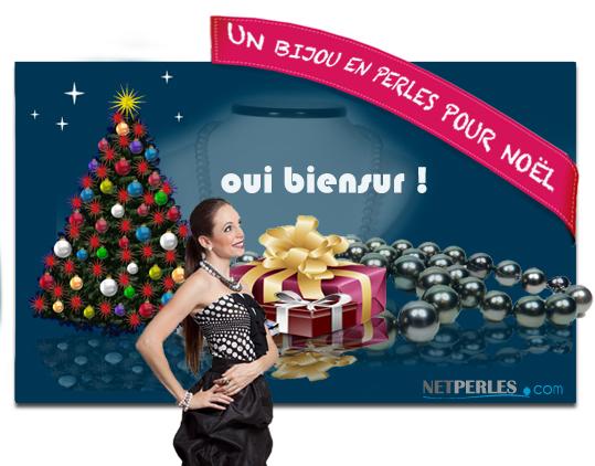 un bijou pour noel, un cadeau formidable vraiment pas cher sur le site NETPERLES.COM