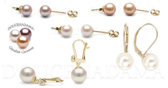 Perles d'eau douce - perles de rivieres - perles d'eau douce haut de gamme - très belles perles