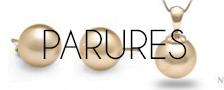 Parures de perles dorées