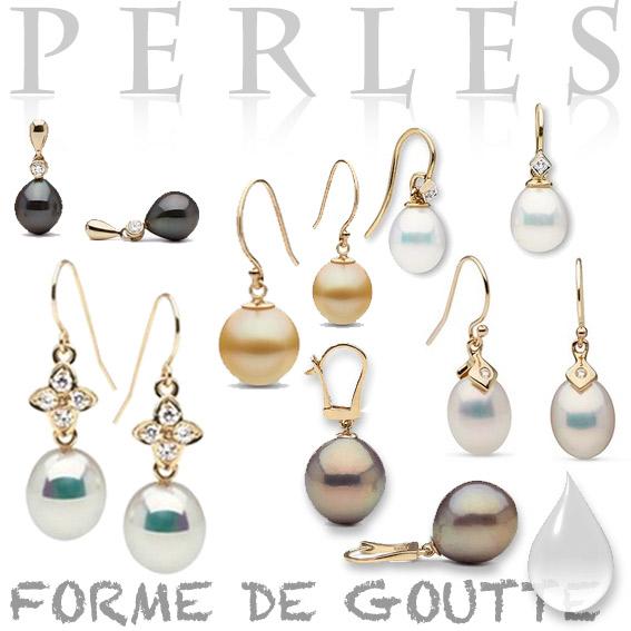 Perles gouttes