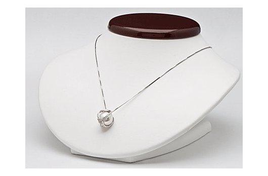 Pendentif Purete avec perles Australie Blanche