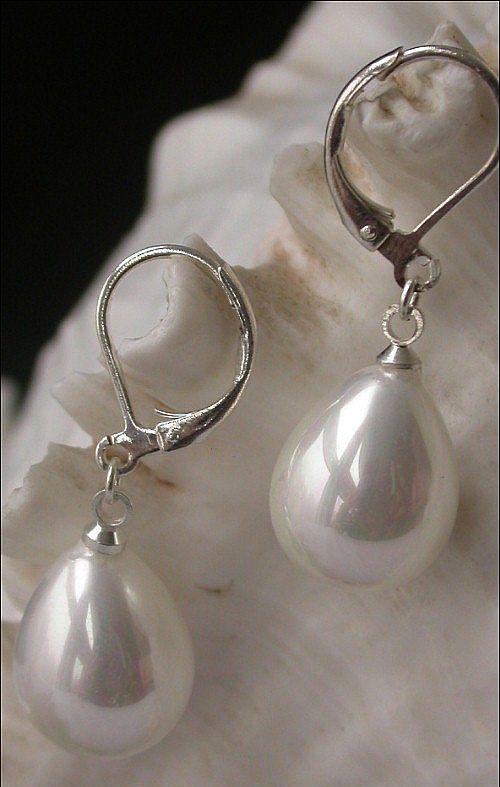 Perles gouttes Shell