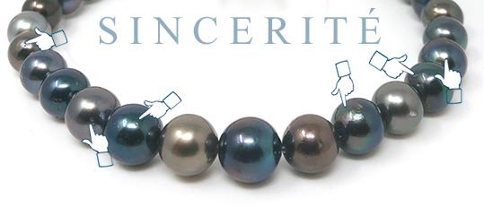Jouons carte sur table, ces perles sont singulières et reconnaissables