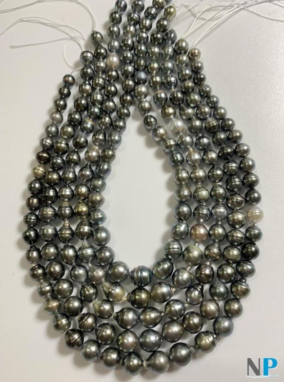 Colliers de perles de Tahiti Baroques