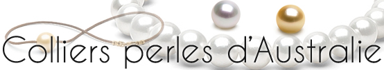 Colliers perles d'Australie