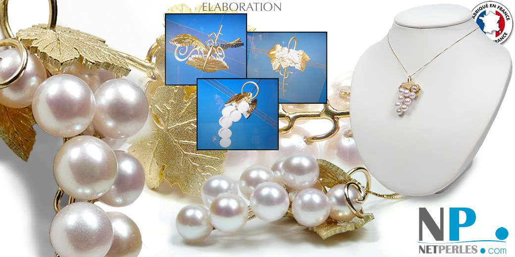 grappe Or & Perles