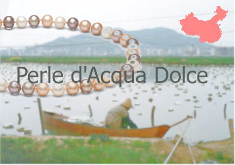 Le perle d'acqua dolce, prodotte in CIna