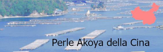 Perles akoya della Cina
