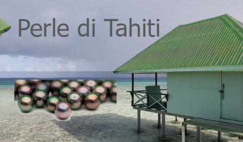 Perle di Tahiti della Polinesia