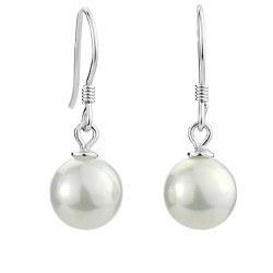 Boucles d'Oreilles Argent 925 de Perles d' Eau Douce DOUCEHADAMA