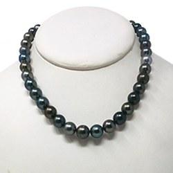 Collier 43/44 cm de perles de Tahiti - 8,2 à 10,5 mm AA/AA+