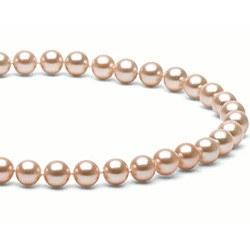 Collier 40 cm de perles d'Eau Douce de 6 à 7 mm Pêche DOUCEHADAMA