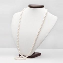 Long Collier de perles d'eau douce 90 cm 9 à 10 mm DOUCEHADAMA