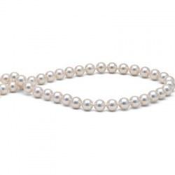 Collier de perles Akoya 7,5 à 8 mm 40 cm