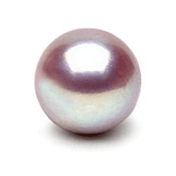 Perle de culture d'eau douce Lavande de qualité Doucehadama de 9-10 mm
