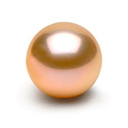 Perle de culture d'eau douce de qualité Doucehadama, rose pêche de 8-9 mm