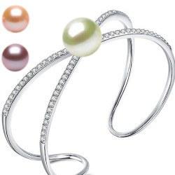 Bracelet en Argent 925 et perle d'Eau Douce DOUCEHADAMA