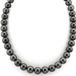 Collier de perles de Tahiti 8 à 10 mm Qualité AAA Longueur 44/45 cm