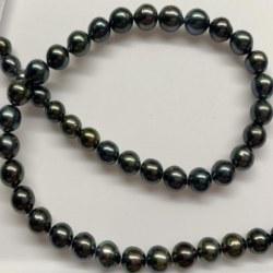 Collier 45/46 cm de perles de Tahiti de 8,0 à 10,0 mm qualité AA